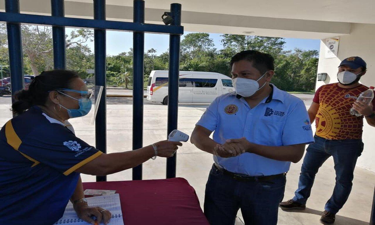 Siguen tomándose las medidas de higiene correctas en el ITSVA