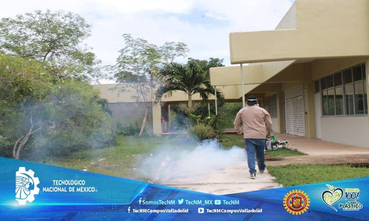 Fumigan las instalaciones del ITSVA