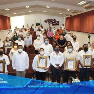 Ceremonia protocolaria por los 23 años de fundación del Tecnológico del Sur de Yucatán