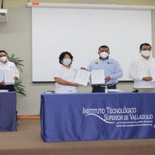 Firman convenios entre el ITSVA y escuelas de nivel medio superior
