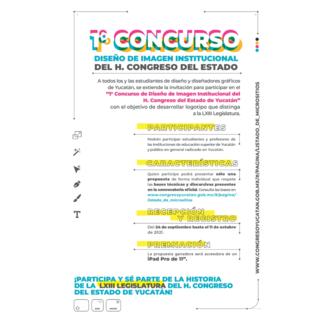 Primer Concurso de Diseño de Imagen Institucional del H. Congreso del Estado.