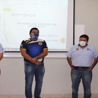 Capacitación y trabajo con el personal de Promoción Cultural, Deportiva y Recreativa.