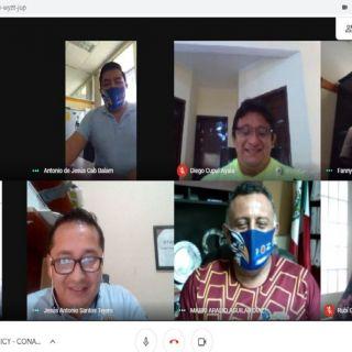 reunión sobre proyectos de investigación científica y tecnológica