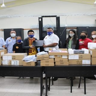 Se entrega equipamiento nuevo a los talleres y laboratorios del ITSVA.
