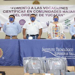 Niñas, Niños y Jóvenes de Comunidades Mayas son beneficiarios de un Proyecto CONACYT-Tec d