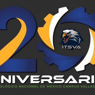 Logotipo ganador del XX Aniversario del ITSVA.