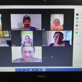 Reuniones de trabajo y clases a través de diferentes plataformas