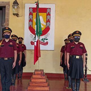 El ITSVA participa formo parte de las guardias por el día de la bandera