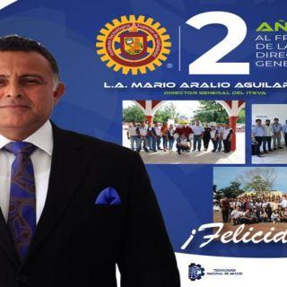 La comunidad tecnológica felicita al Lic. Mario Aralio Aguilar Díaz